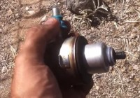 Dodge Neon Pressure Regulator Blue Clip