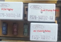 Ford Taurus Fuel Pump Relay Location