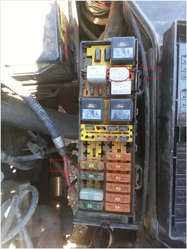 ford taurus sable fuel trouble shooting 1996 to 1999 2007 ford fusion relay diagram ford taurus fuel pump and relay fuse location