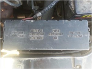 Ford Taurus Fuse Box
