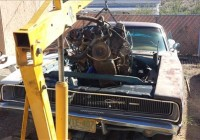 Dropping a 360 Engine into a 1968 Dodge Charger