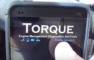 Using a OBD2 Bluetooth Adapter To monitor Your Car or Truck with Torque App to Monitor Gas Milage