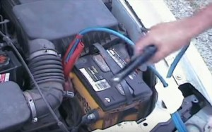 how to hook up jumper cables
