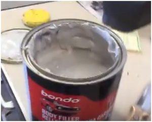 How to Repair Rusted or Damaged Metal Panel Fabricating Body Filler