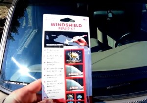 How to Repair a Windshield Chip or Crack on any Car or Truck