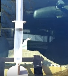 Repair a Windshield Chip or Crack on any Car or Truck SUV Resin Crack