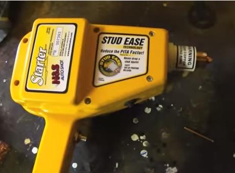 Car Body Repair Stud Puller Video