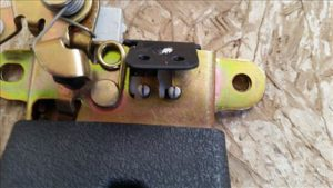 VW Trunk Latch Repair 2002