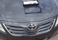 how-to-install-a-front-license-plate-toyota-camry-2007-2011