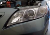 How To Replace a Headlight Bulb Toyota Camry 2007-2011
