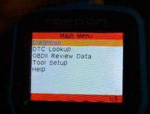 Review Topdon Professional Universal OBD2 Screen