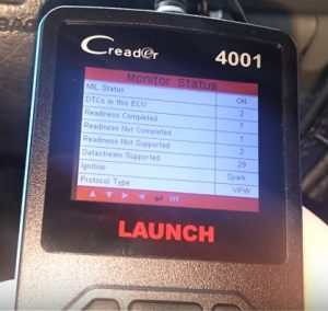 Review Car Code Reader, Launch CReader 4001 Diagnostic Scan Tool Pic 2