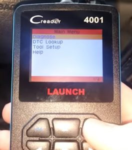 Review Car Code Reader, Launch CReader 4001 Diagnostic Scan Tool for Check Engine Light & Diagnostics