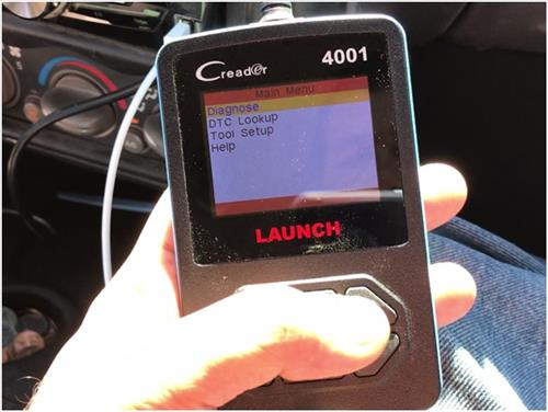 Review Launch CReader 4001 Diagnostic OBD2 Scan Tool 4