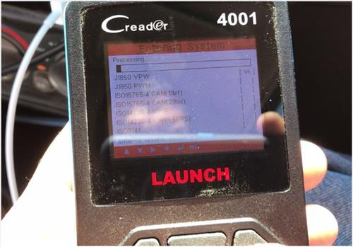 Review Launch CReader 4001 Diagnostic OBD2 Scan Tool 5