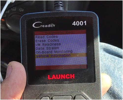 Review Launch CReader 4001 Diagnostic OBD2 Scan Tool 8