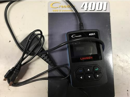 Review Launch CReader 4001 Diagnostic OBD2 Scan Tool