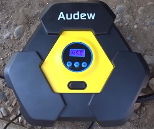 Review AUDEW 12 Volt Portable Air Compressor 150 PSI Pump Test 1