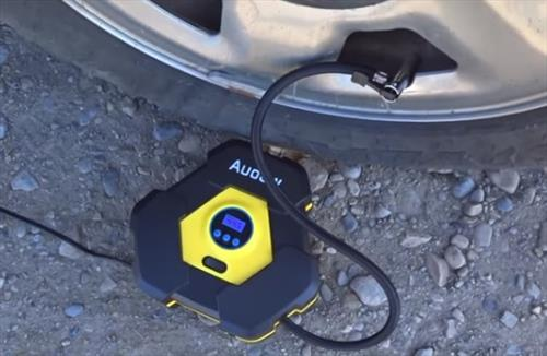 Review AUDEW 12 Volt Portable Air Compressor 150 PSI Pump Test 2