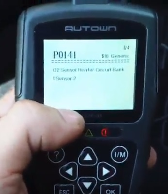 Review AUTOWN EOBD OBDII Scanner Universal Car Diagnostic Tool Codes