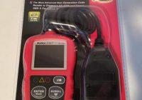 Review Autel Auto Link AL319 OBD2 Scanner