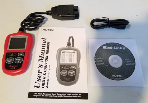 Review Autel Auto Link AL319 OBD2 Scanner ALL