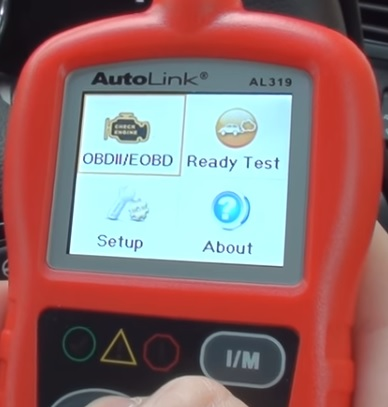Review Autel Auto Link AL319 OBD2 Scanner Menu
