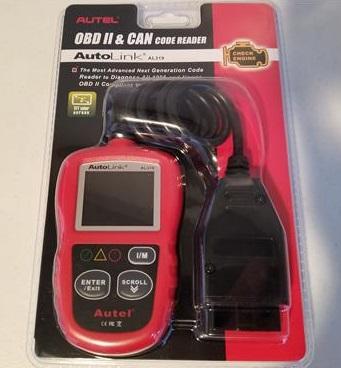 Review Autel Auto Link AL319 OBD2 Scanner