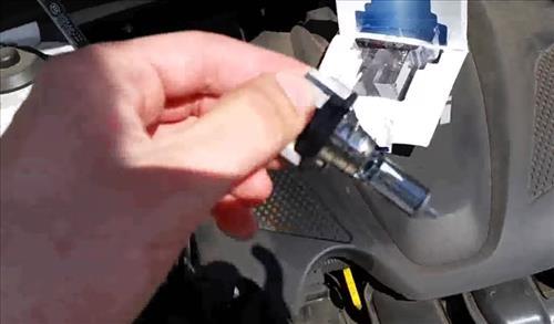 How to Easily Change Headlight Bulbs on 2011-2013 Kia Optima step 8