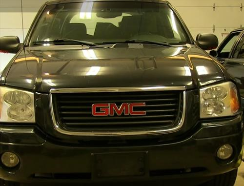 How To Install Replace Headlight And Change Bulb 2002 09 Gmc Envoy Pic 1