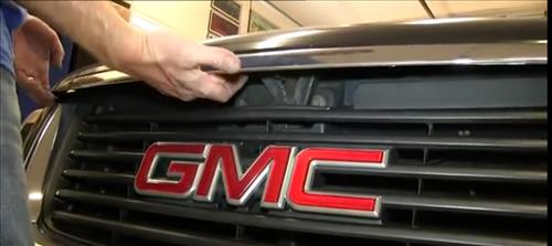How To Install Replace Headlight and Change Bulb 2002-09 GMC Envoy step 2