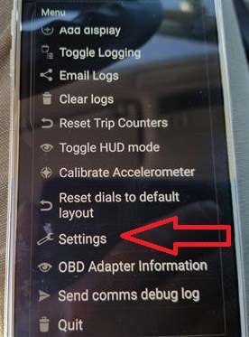 How To Connect a OBD2 WiFi Dongle to an Android Step 4