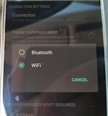 How To Connect a OBD2 WiFi Dongle to an Android Step 7