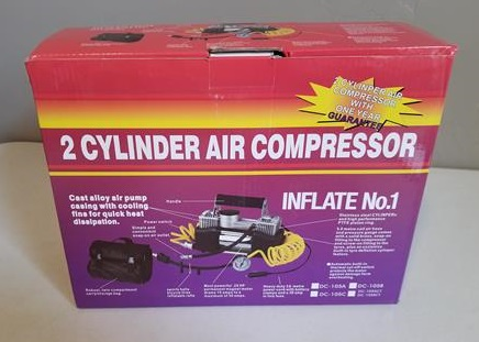 Review Audew Dual Cylinder 12 Volt Air Compressor Pump