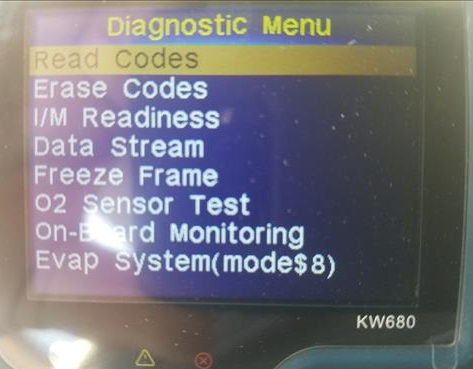 Review KW680 OBDII Automotive Car Truck Engine Scan Tool In Diagnostic