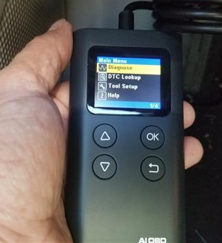 Review Launch AI OBD Enhanced Universal OBD II Scanner Menu