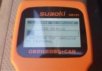 Review SUAOKI OM123 OBD II Scan Tool