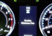 How to Reset the Service Maint Light 2013-2018 Toyota Highlander