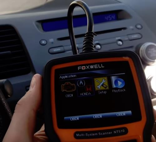 Best OBD2 Scan Tool for Honda Foxwell NT510
