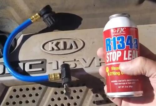 How to Fix a Car with an Air Conditioning Leak Stop Leak