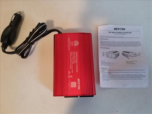 Review BESTEK 300W Power Inverter DC 12V to 110V AC ALL