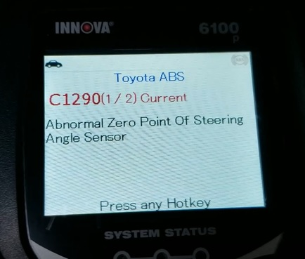 Review INNOVA 6100P SRS ABS Engine OBD2 Scan Tool Test 7