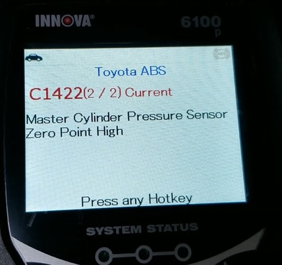 Review INNOVA 6100P SRS ABS Engine OBD2 Scan Tool Test 8