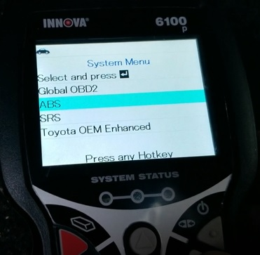 Review INNOVA 6100P SRS ABS Engine OBD2 Scan Tool