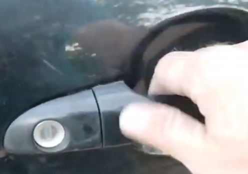 How To Replace a Door Handle on a 2005-2009 Kia Spectra Instert Handle 8