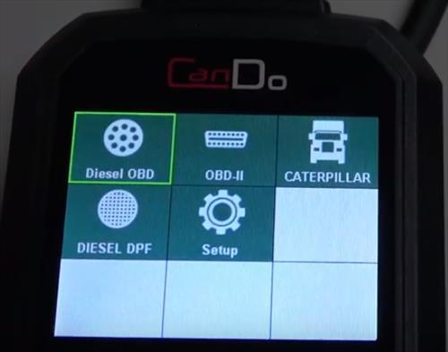 Best OBDII Diesel Scan Tools CanDo HD Code II