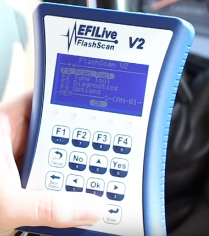 Best OBDII Diesel Scan Tools EFILive FlashScan V2