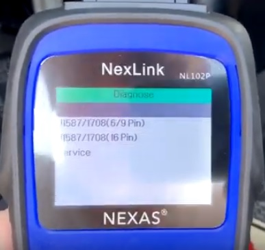 Best OBDII Diesel Scan Tools NexLink NL102Plus