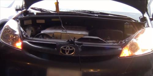 How to Replace Headlight Bulb 2003–2009 Toyota Sienna