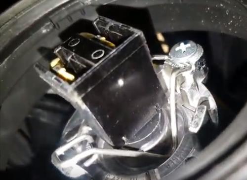 How to Replace Headlight Bulb 2011-2014 Hyundai Sonata Step 2